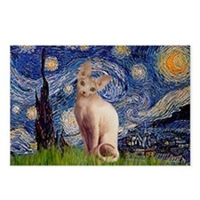 Starry Night / Sphynx Postcards (Package of 8)