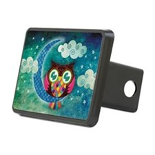 my crescent owl Hitch Cover