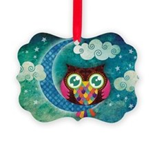 my crescent owl Ornament