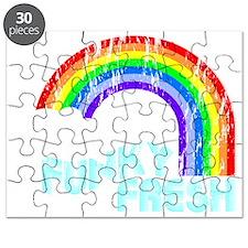 funky rainbow Puzzle