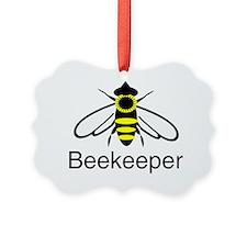 beekeeper bee dark Ornament