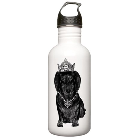 DaschundCrownJewels Stainless Water Bottle 1.0L