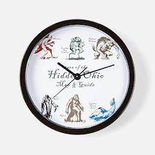StarsOfHiddenOhio Wall Clock