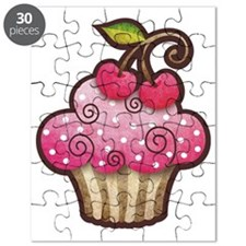 cupcake_cherry_tee Puzzle