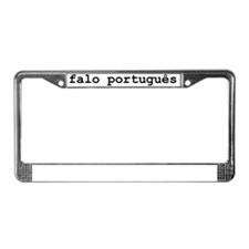 ispeakPTb License Plate Frame