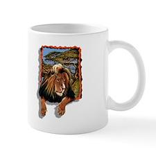 lion in window  Mug