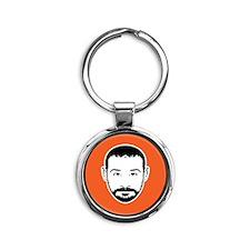 brandonForShirt Round Keychain