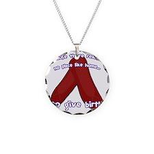 Oz_Birth Necklace Circle Charm