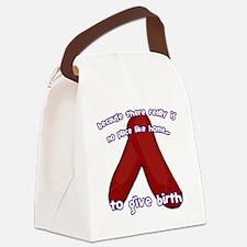 Oz_Birth Canvas Lunch Bag