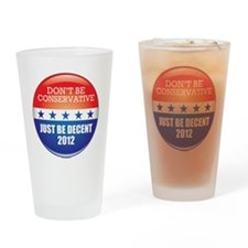 POTUSconserv Drinking Glass