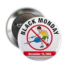 "Jarts Black Monday big 2.25"" Button"