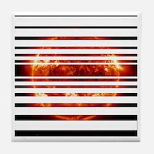 sunsettest Tile Coaster