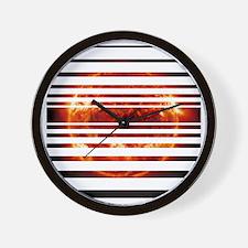 sunsettest Wall Clock