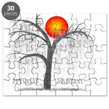 Pa 8 Weeping Willow Grey Puzzle