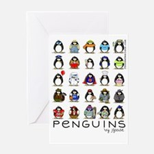 Lots of Penguins-new Greeting Card