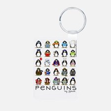 Lots of Penguins-new Keychains
