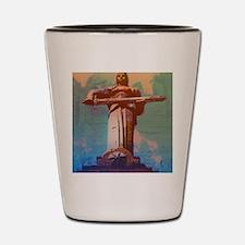 GA_MotherArmeniaCard Shot Glass