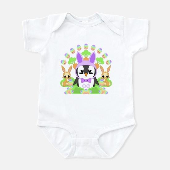 Hoppy Easterguin Infant Bodysuit