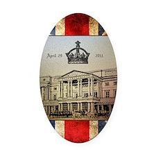 GB_UJ_BU_Crown_52x62 Oval Car Magnet