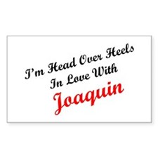 In Love with Joaquin Rectangle Decal