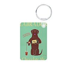 Labrador Cocolate Ale Keychains