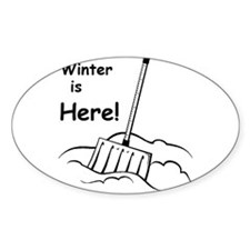 Winter is Here Decal