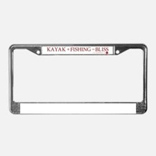 KFB w/Top Margin License Plate Frame