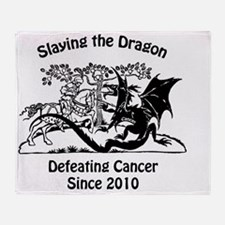 slay dragon since 2010 Throw Blanket