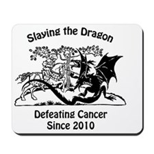 slay dragon since 2010 Mousepad