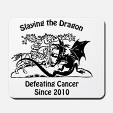 slay dragon since 2010 Mousepad