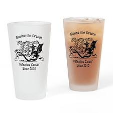 slay dragon since 2010 Drinking Glass