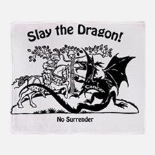 slaydragon Throw Blanket