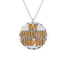 My Daughter is a Survivor (o Necklace Circle Charm