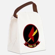 VAQ-33 Firebirds Canvas Lunch Bag