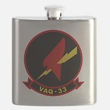 VAQ-33 Firebirds Flask