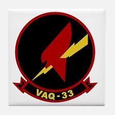 VAQ-33 Firebirds Tile Coaster