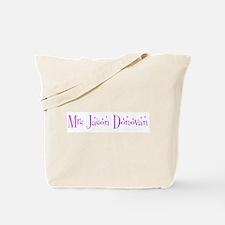 Mrs Jason Donovan Tote Bag