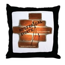 Tshirt logo Throw Pillow