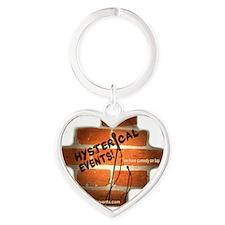 Tshirt logo Heart Keychain