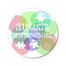 autistic_37 Cork Coaster
