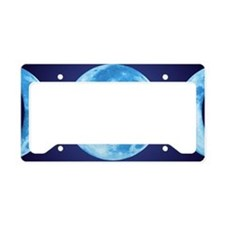 threePhaseMoon3LPT License Plate Holder