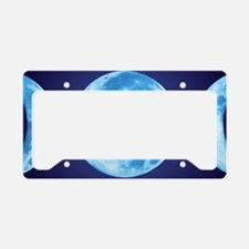 threePhaseMoon3LPT License Plate Holder