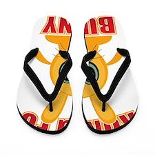 Kung Fu Bunny Flip Flops