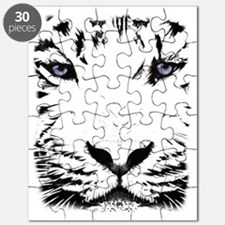 White Tiger for White Puzzle