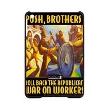 WAR WORKERS PUSH CAFE iPad Mini Case