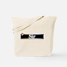 Sir Tote Bag