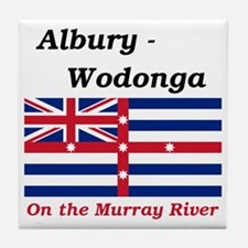 Albury-Wodonga-RedMurray Tile Coaster