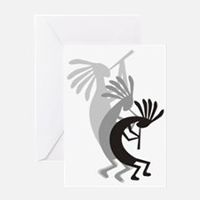 Kokopelli Gets Down Greeting Card