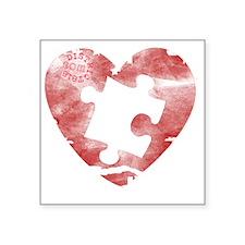 """autistic_38 Square Sticker 3"""" x 3"""""""