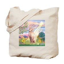 Cloud Angel & Sphnx cat Tote Bag